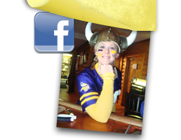 Share your pictures of you, your friends and family at Sal's on Facebook!